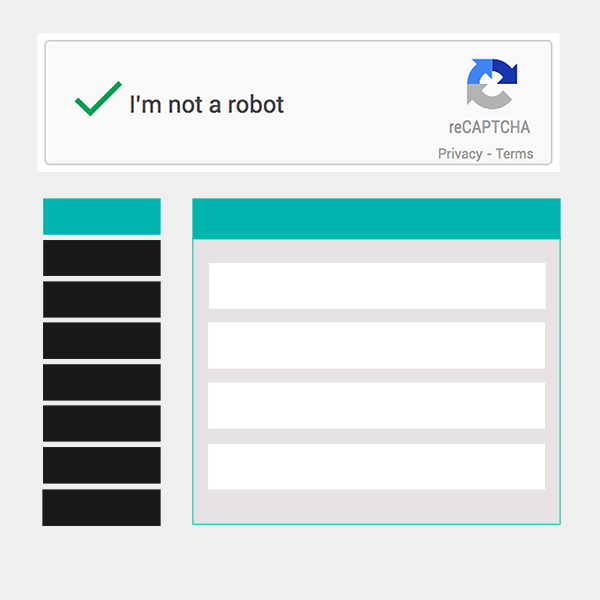 How to add Captcha to Frontend Dashboard
