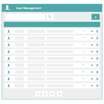 Frontend Dashboard User Management