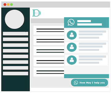 Frontend Dashboard Social Chat